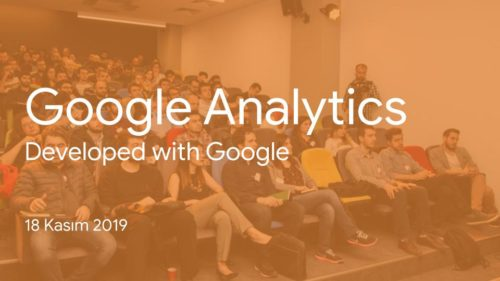 18 Kasım Google Analytics Eğitimi