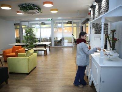 Dome Hazır Ofis Ortak Alanlar