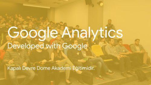Google Analytics Eğitimi Kapalı Devre